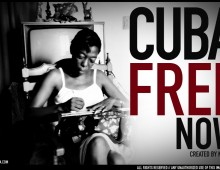 CUBA FREE NOW  /  Created by Nebra / All rights reserved.